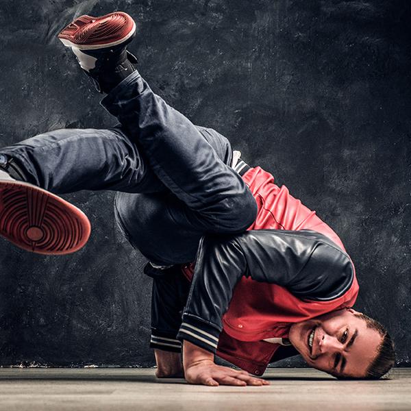 Dubbl'Arts, break-dance